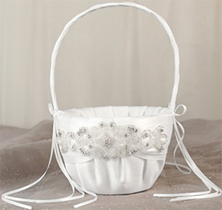 Adriana Flower Girl Basket