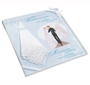 Bride Embroidered Wedding Hankie