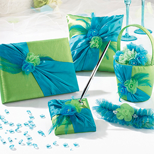 Blue and Green Wedding Collection