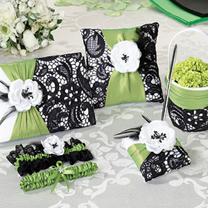 Green & Black Wedding Collection