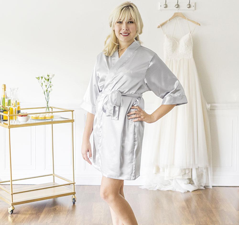Bridesmaid Satin Robes | Bridesmaid Satin Robes