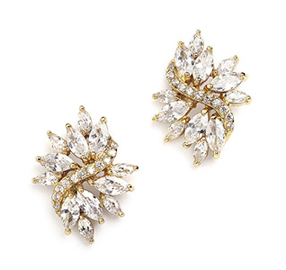 Gold-Cubic-Zirconia-Cluster-Bridal-Earrings-with-Delicate-Marquis-Stones-M.jpg