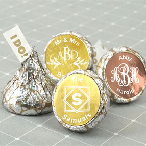 Hershey's Kisses Favors