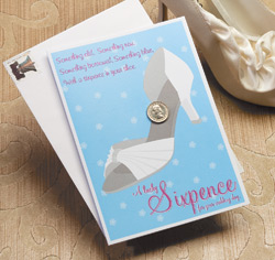Lucky Sixpence for Bride