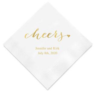 personalized napkins custom napkins