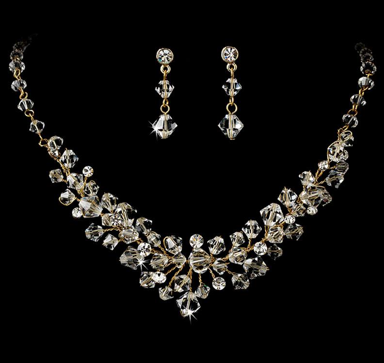Swarovski Crystal Bridal Jewelry Set Wedding Jewelry