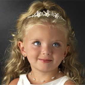 First Communion Hairpieces