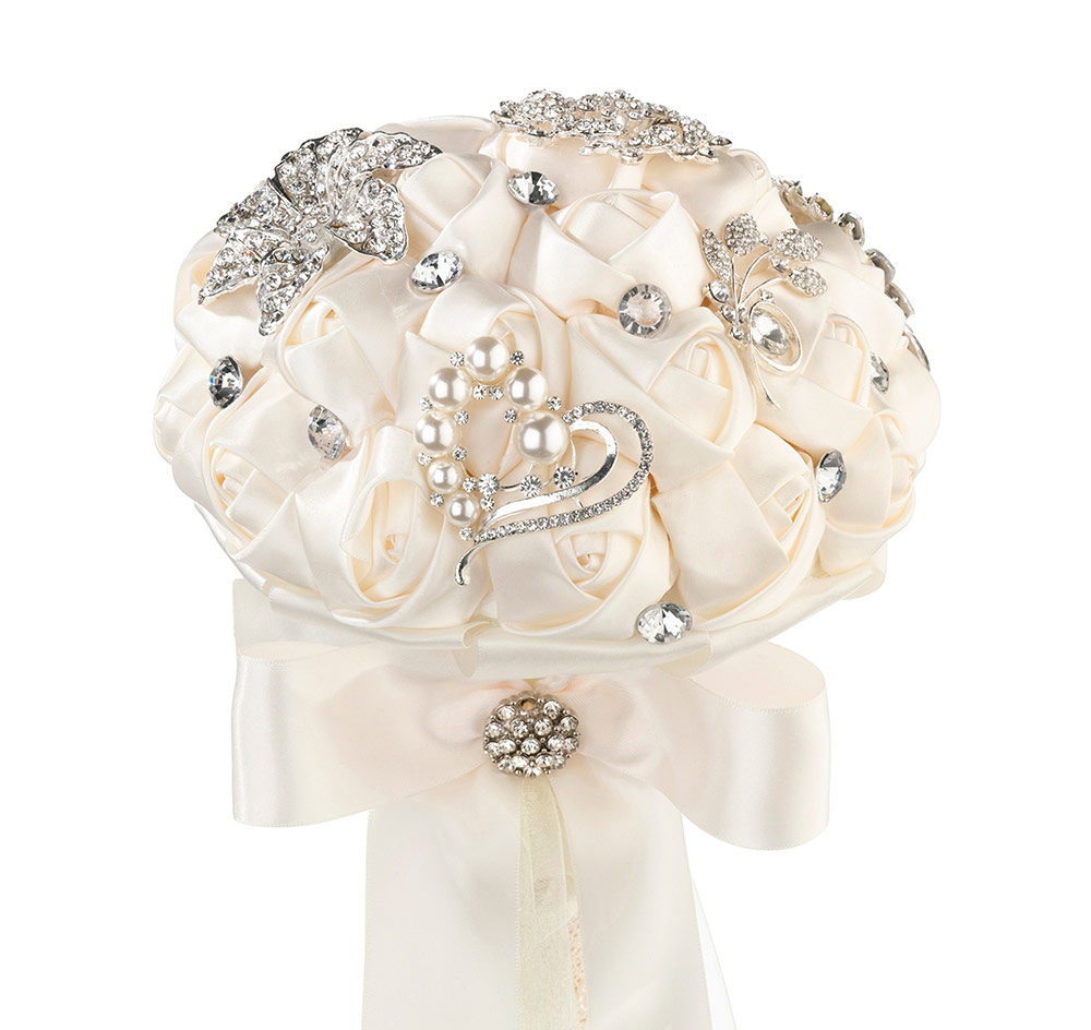Bridal bouquet crystal bridal bouquet crystal flower bridal bouquet izmirmasajfo