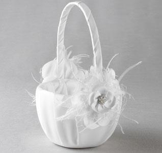 Wedding flower baskets wedding flower girl baskets flowergirl basket somerset white mg mightylinksfo