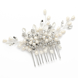 Pearl & Pave Bridal Hair Comb