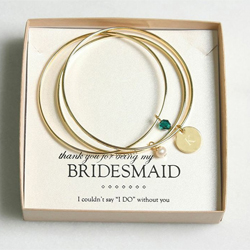 Emerald Gold Bangle Bracelets